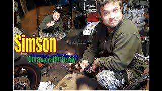 Oprava zadní brzdy na Simsonu // Jed od Aleny // Turek - KOMEDIE
