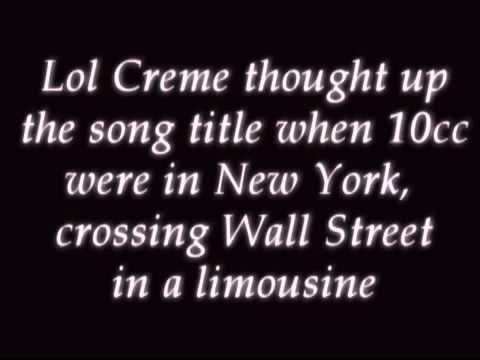 10cc  The Wall Street Shuffle