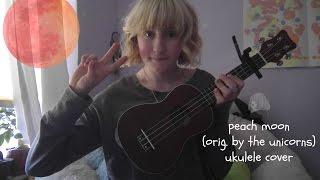 peach moon (orig. by the unicorns) ukulele cover