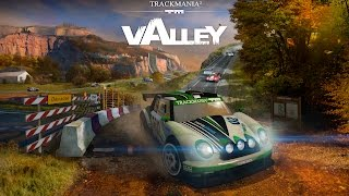Trackmania 2 -Valley gameplay