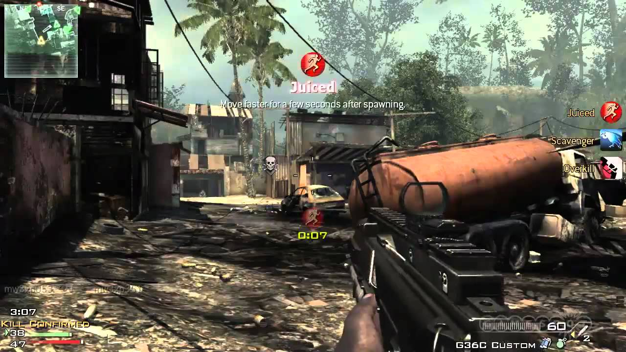 Call Of Duty Modern Warfare 3 Confirmed Kill Gameplay Xbox 360