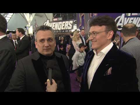 Avengers Endgame World Premiere Los Angeles - Itw Anthony Russo, Joe Russo (official Video)