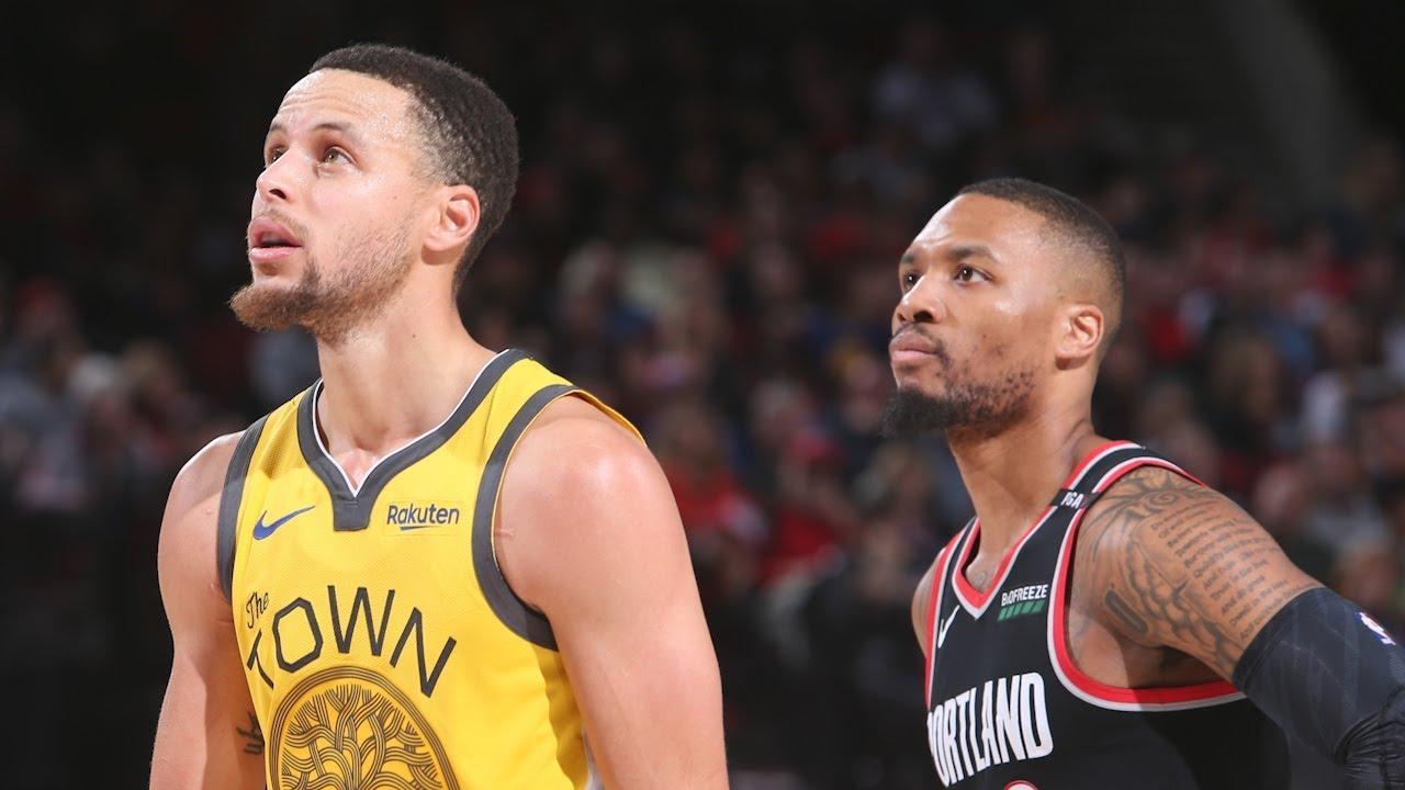 Portland Trail Blazers vs. Golden State Warriors in Game 4 ...