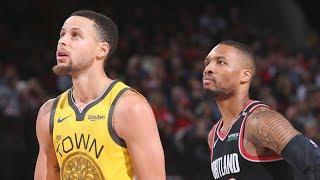 Golden State Warriors vs Portland Trail Blazers - Highlights   Feb 13, 2019   2018-19 NBA Season