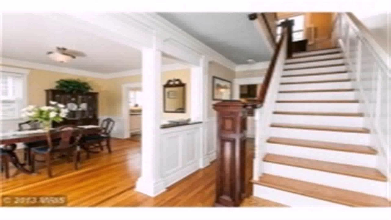 Center hall colonial floor plan remodel youtube for Colonial floor plans open concept