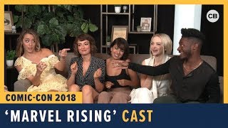 Marvel Rising  - SDCC 2018 Exclusive Interview