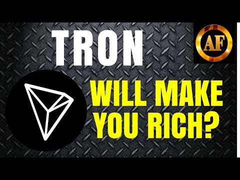 Will TRON (TRX) MAKE YOU RICH? - Great News Surfacing!
