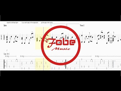 Barfuß Am Klavier - AnnenMayKantereit / Guitar Acoustic Fingerstyle Tab