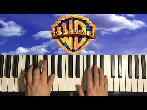 How To Play - Warner Home Video Intro (PIANO TUTORIAL LESSON)