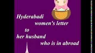 Hyderabadi Biwi ka khat foreighn husband k naam