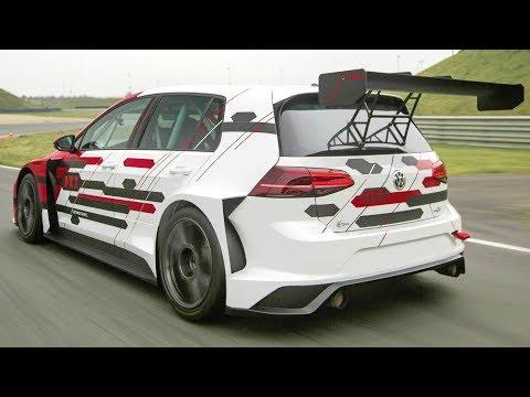 2018 Volkswagen Golf GTI TCR - 350 PS Champion in New Design