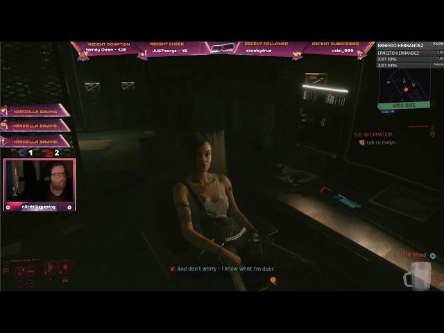 Cyberpunk 2077 Launch Stream with N3RDZILLA GAMING