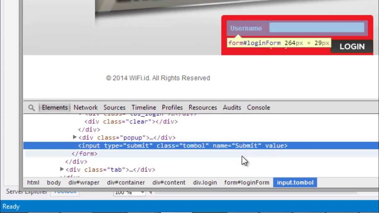 Dasar Cara Membuat Auto Login Website ( Wifi id ) [ VB NET ]