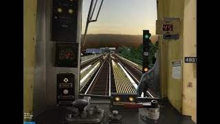 OpenBVE HD: NYC Subway R42 Z Express Train (Broadway Junction to Marcy Avenue) Cab Ride Preview