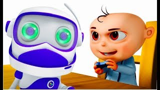 Zool Babies Robot Control Episode | Videogyan Kids Shows | Cartoon Animation Series For Children