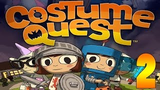 ►Costume Quest!◄ 2 ► OLD LADY PROBS & PARTY CRASHERS!