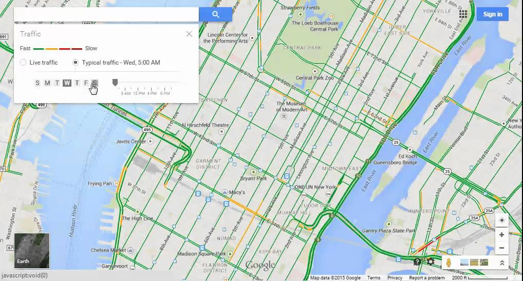 Google Maps Tips 8 Live And Typical Traffic Conditions Youtube