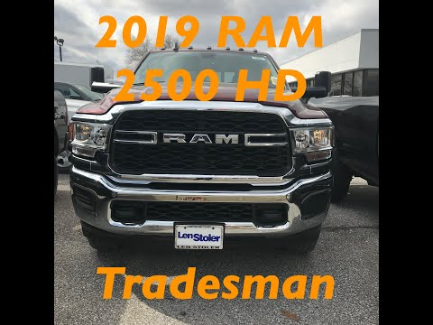 2019 RAM 2500 Tradesman - Not So Basic Anymore Part 1