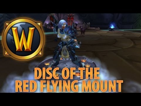 ★ WoW Vanity - Disc of the Red Flying Cloud!