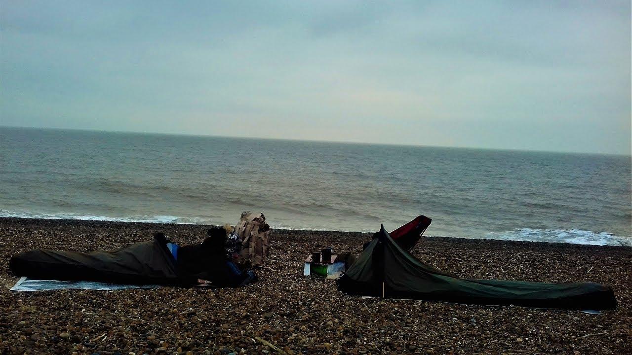 BEACH WILD CAMP   SUFFOLK COAST   FRISTON TO ALDEBURGH ...