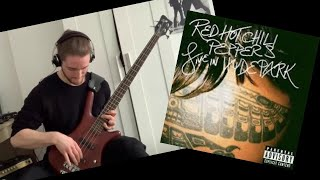 Red Hot Chili Peppers - Leverage of Space bass cover