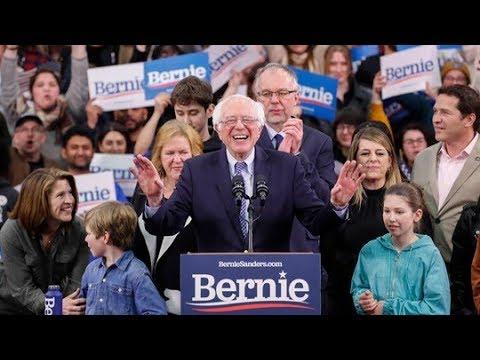 Bernie Sanders makes campaign announcement