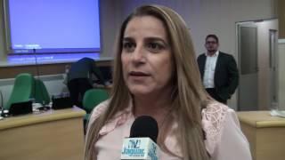 Gleide Rabelo pres. do IMAMN veio expor as atribuições do instituto de meio ambiente em Morada Nova