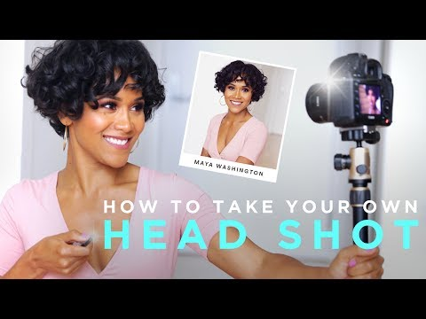 How to Photograph Your Own Headshot   TECH TALK