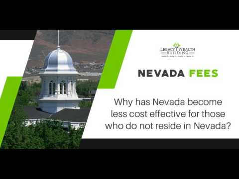 Why Has Nevada Become Less Cost Effective for Those Who Do Not Reside in Nevada?
