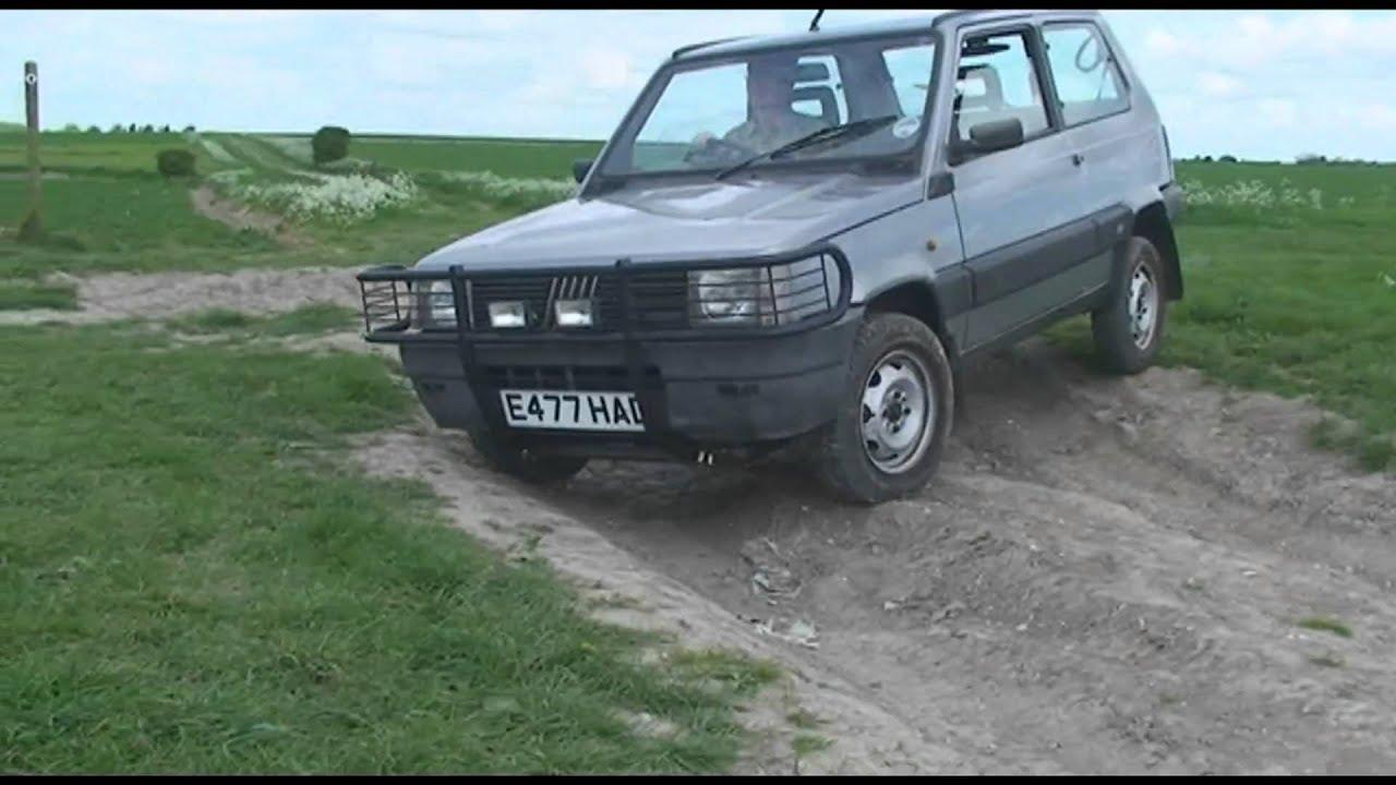 Fiat panda 4x4 off roading 3 youtube for Panda 4x4 youtube