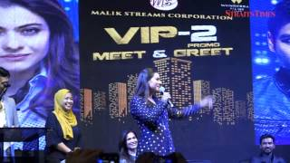 Bollywood superstar Kajol greeted by 2,000 screaming fans in KL