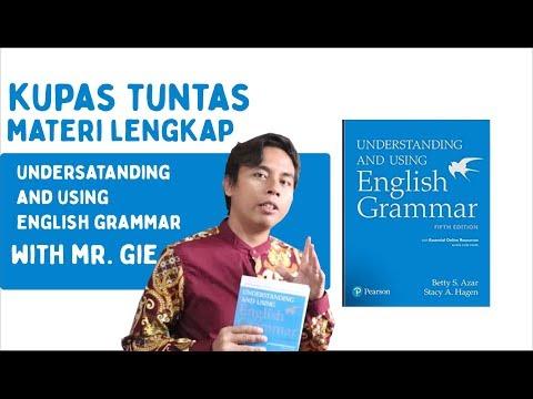 Kupas Tuntas Buku Understanding And Using English Grammar With Mr. Gie