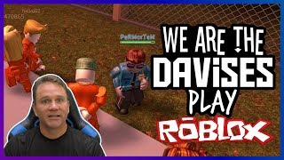 These Cops Are Tough | Roblox Jailbreak EP-41 | We Are The Davises Gaming