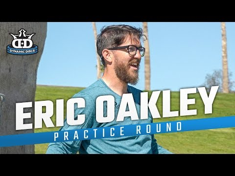 Eric Oakley disc golf practice round at Fountain Hills in Arizona!