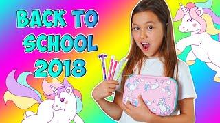 Download BACK TO SCHOOL 2018/Мои Покупки К Школе Моя UNICORN Канцелярия Mp3 and Videos