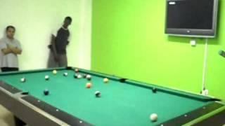 Dad wins 2010 Barwa 8-Ball Billiard Tournament