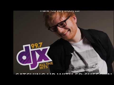 Ed Sheeran Catches Up With WDJX