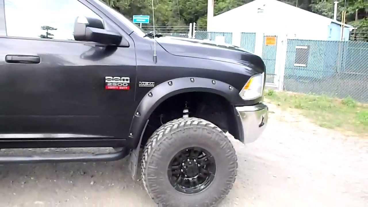 2010 dodge ram 2500 mega cab 6 pro comp lift kit 37 nitto trail grapplers youtube