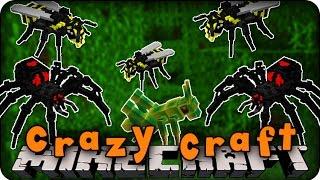 Minecraft Mods - CRAZY CRAFT 2.0 - Ep # 94 'CRAZY DEATH SPIDERS!' (Erebus Mod)