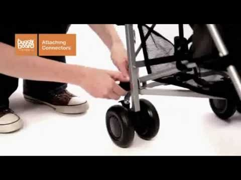 Lascal Buggyboard Mini - How To Fit Video | Baby Security