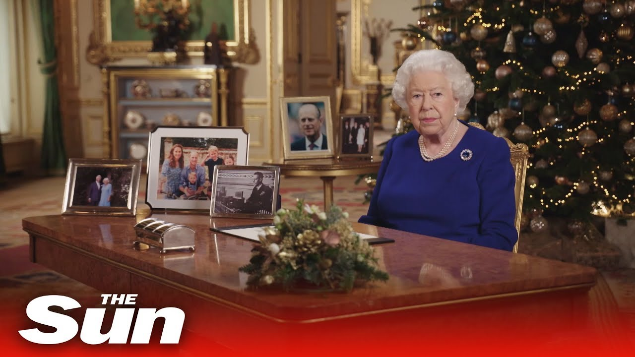 Queens Christmas Message 2020 Queen's Speech   Watch Her Majesty deliver annual Christmas