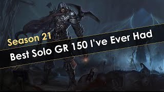 Diablo 3 Best Solo GR150 Attempt I Ever Had