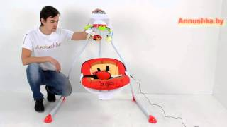 Детские электронные качели Caretero Bugies