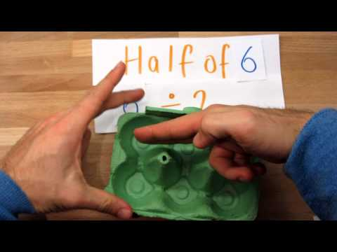 Halving small numbers