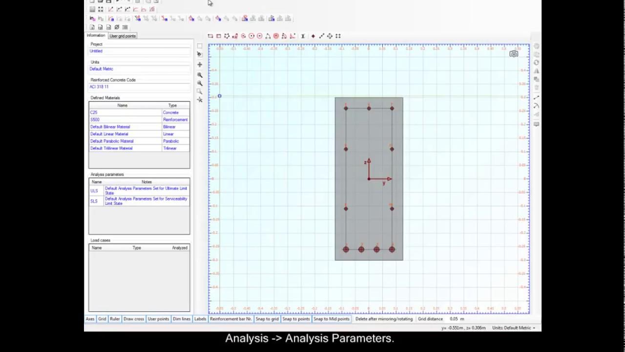 Example 1: Reinforcement design of a beam section   Engissol Ltd