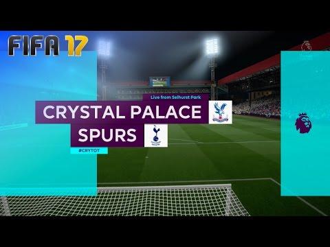 FIFA 17 - Crystal Palace vs. Tottenham Hotspur @ Selhurst Park