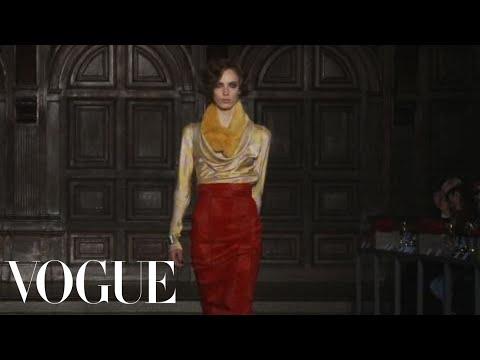 Fashion   L'Wren Scott: Fall 2012 ReadytoWear