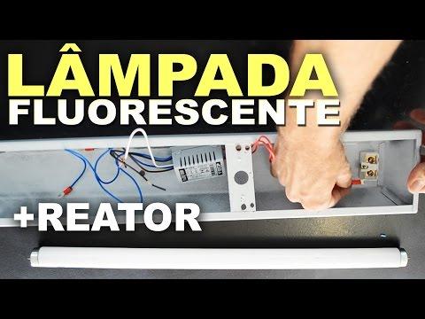 Como instalar Lâmpada Fluorescente com Reator?
