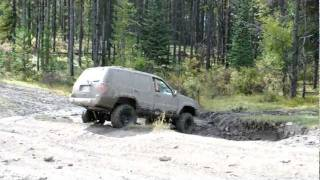 Jacked Up Grand Cherokee Zj Kickin Up The Mud Countrystyle