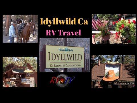Idyllwild Thousand Trails RV Resort…Idyllwild California…RV Travel..RV Life…RV Living